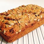 The best wholemeal banana chocolate bread recipe