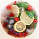 Refreshing drink with this berry summer pick me up